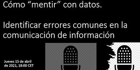 """Cómo """"mentir"""" con datos. Identificar errores comunes en la comunicación boletos"""