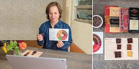 Tasting Terroir in Chocolate: Virtual Craft Chocolate Tasting Tickets
