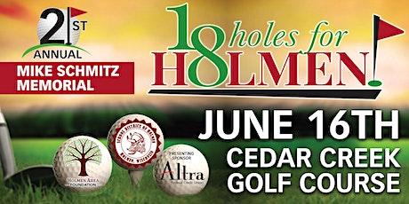 18 Holes for Holmen tickets