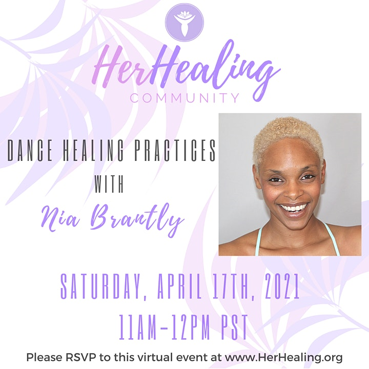 HerHealing Community: Dance Healing Practices with Nia Brantly image