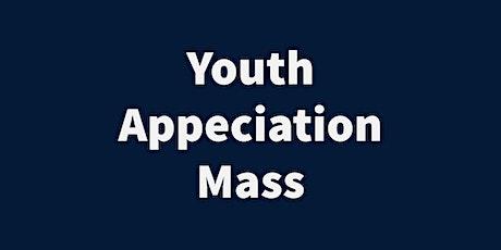 2021 Youth Appreciation Mass - April 25, 2021 tickets