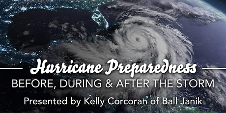 Monthly Meeting: Luncheon - Hurricane Preparedness tickets
