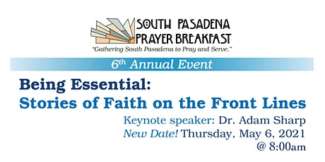 The 6th Annual South Pasadena Prayer Breakfast tickets