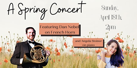 Angela and Friends Event Series: Dan Nebel, horn (online) tickets
