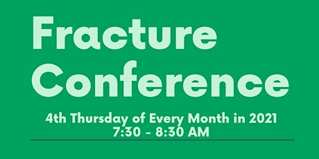 THFW Fracture Conference tickets
