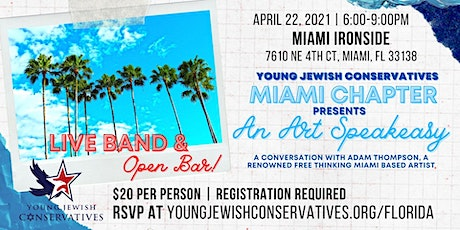 YJC Miami Chapter Presents: An Art Speakeasy tickets