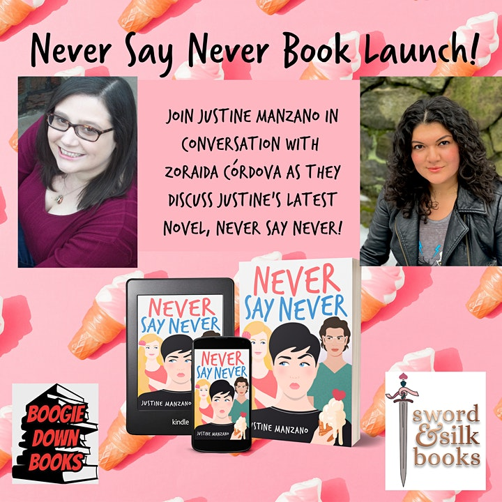 Never Say Never Book Launch Event! image