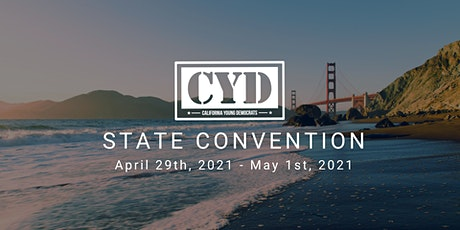 California Young Democrats Virtual State Convention 2021 tickets