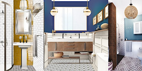 Bathroom design consultation with plans. 90 minutes  to help you  create tickets