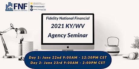 FNF 2021 KY/WV Agency Virtual Seminar tickets