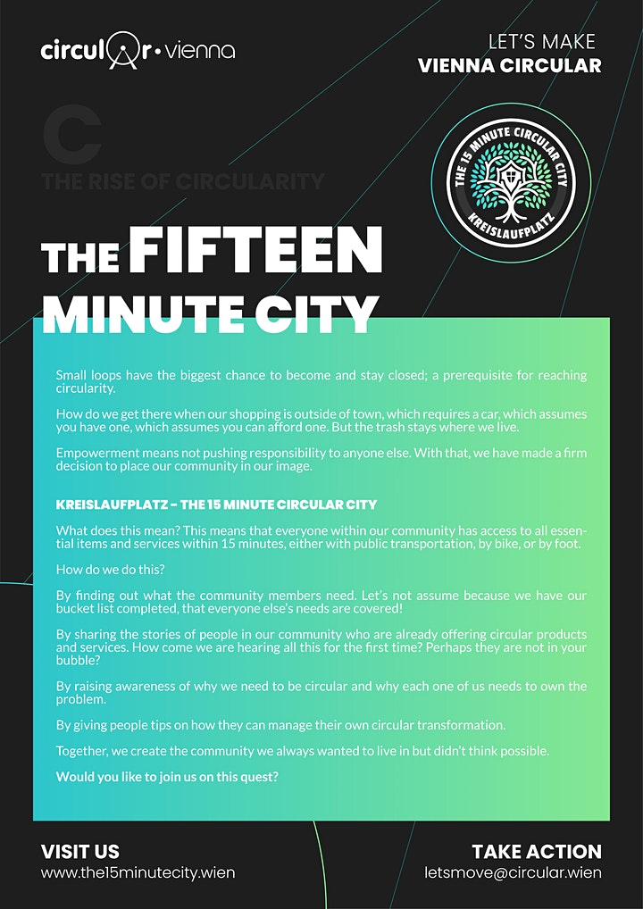 The 15 Minute Circular City: Bild