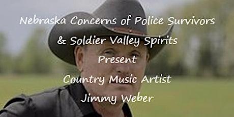 Nebraska C.O.P.S. & Soldier Valley Spirits Presents Jimmy Weber in Concert tickets