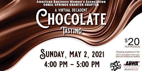 ABWA Decadent Chocolate Tasting! tickets