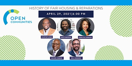 History of Fair Housing & Reparations tickets