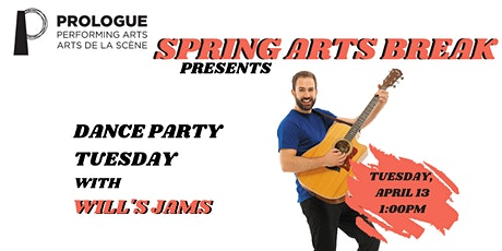 Prologue's Spring Arts Break: Dance Party Tuesday with Will's Jams tickets