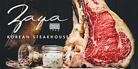 Zaya Korean Steakhouse Grand Opening tickets