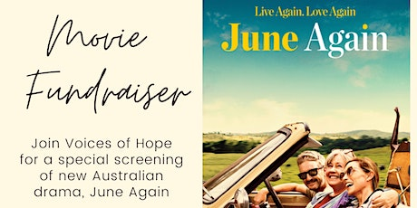 Voices of Hope Fundraiser - Screening of June Again tickets