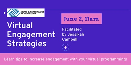 Virtual Engagement Strategies tickets