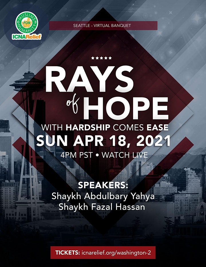 Rays  of Hope:  With Hardship Comes Ease - Seattle image