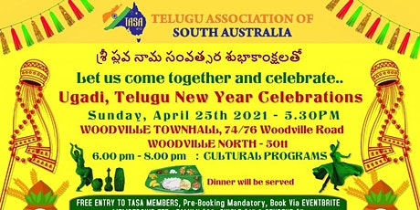 TASA - Ugadi Celebrations tickets