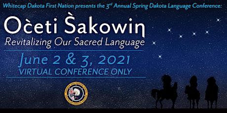 Dakota Language Virtual  Conference tickets