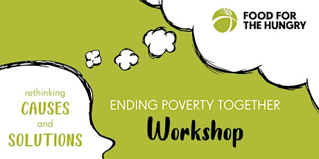 Canadian Poverty Institute Ending Poverty Together Online Workshop tickets