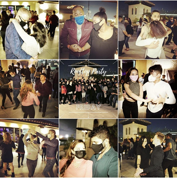 Salsa on the Rooftop! at Ivy & Bar Bistro, Houston! 04/09 image