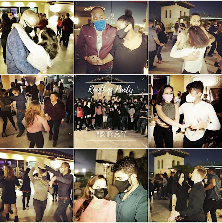 Bachata on the Rooftop! at Ivy & Bar Bistro, Houston! 04/30 image