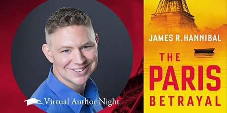 Virtual Author Night with James Hannibal tickets