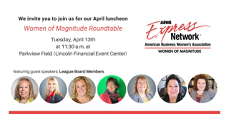 ABWA - Women of Magnitude April Networking Lunch tickets