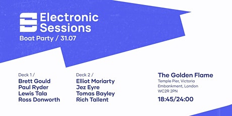 Electronic Sessions Boat Party tickets