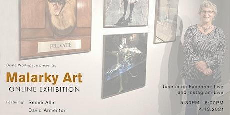 Malarky Art Online Exhibition tickets