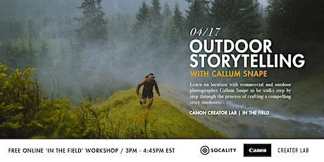 Outdoor Storytelling with Callum Snape tickets