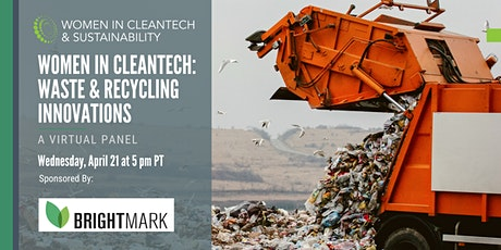 Women in Cleantech: Waste & Recycling Innovations tickets