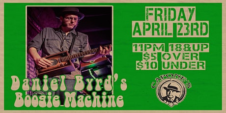 Daniel Byrd's Boogie Machine Late Show 11pm-1am tickets