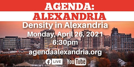Density in Alexandria tickets
