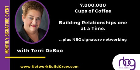 7,000,000 Cups of Coffee - Building Relationships tickets