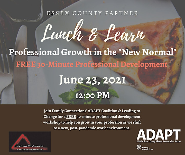 """Essex County Professionals """"New Normal"""" Lunch & Learn Series image"""