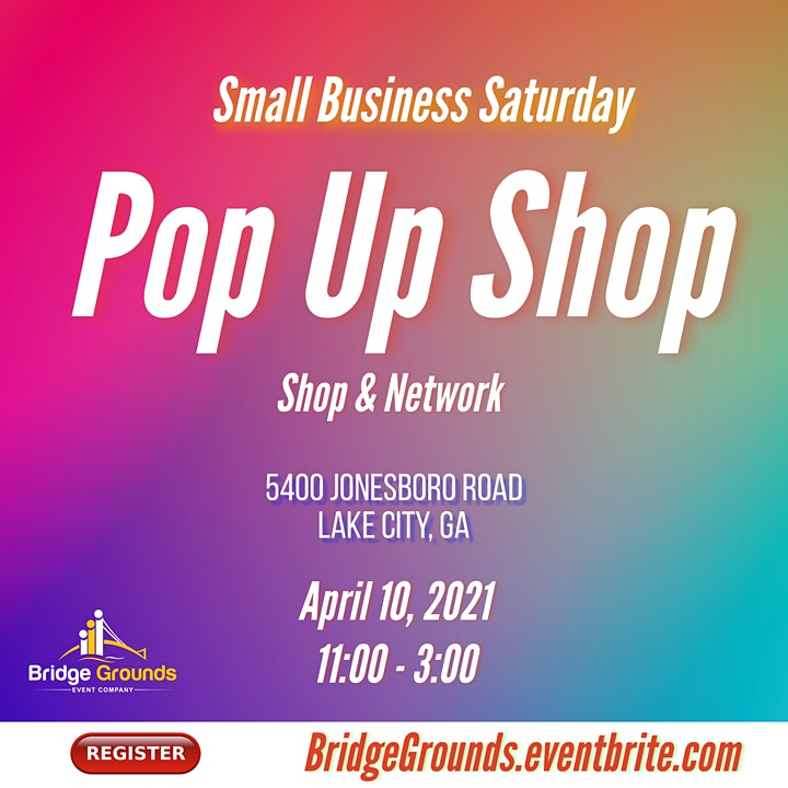 Small Business Saturday - Pop Up Shop image
