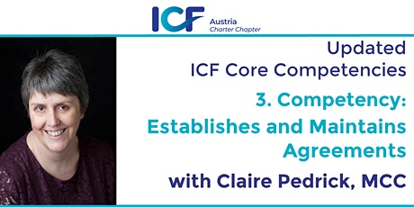 Updated ICF Core Competencies: Establishes and Maintains Agreements tickets