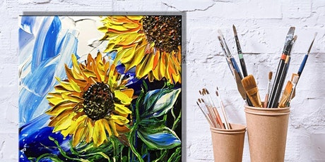 Stress Relief Painting: Knife Painting Sunflowers tickets