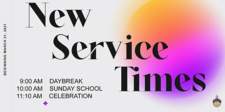 Daybreak Traditional Service tickets