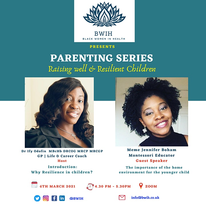 BWIH Parenting Series image