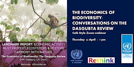 The Economics of Biodiversity tickets