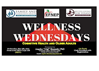 Wellness Wednesday's-Extension Wellness Talks tickets
