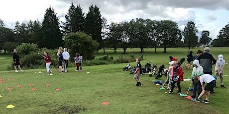 Bearsden Golf Club Junior Easter Camp 2 tickets