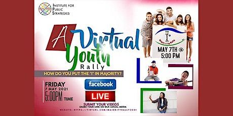 """I"" in Majority Youth Rally tickets"