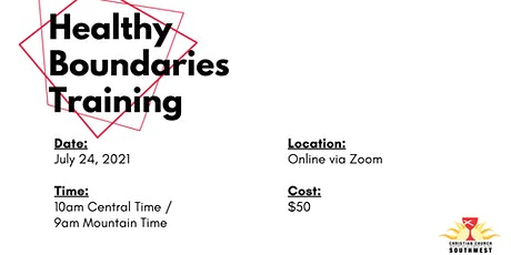 Healthy Boundaries (English Language) tickets