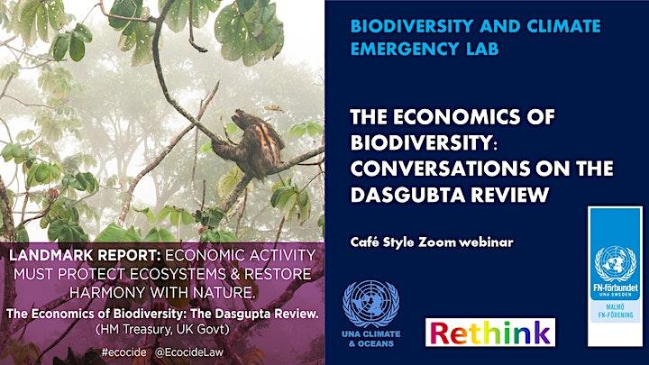 The Economics of Biodiversity image