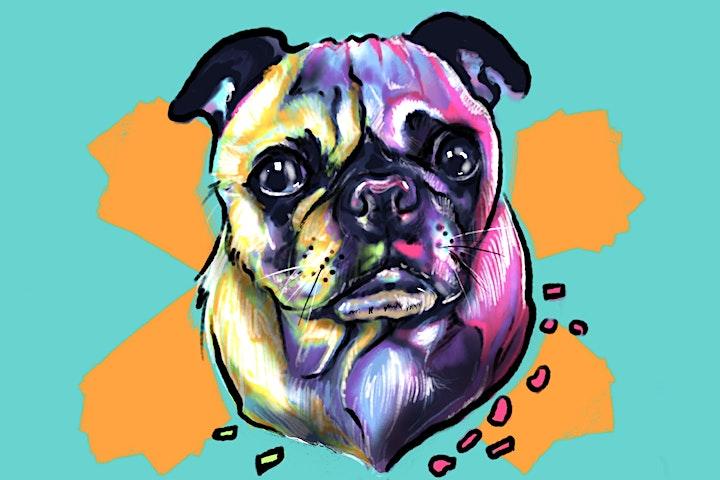 Bubbles & Brush- Its a Pugs Life image